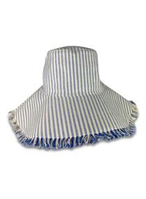 603 CANVAS PACKABLE HAT - OCEAN STRIPE