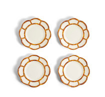 53461 BAMBOO TOUCH ACCENT PLATE - SET OF 4