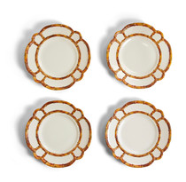 53462 BAMBOO TOUCH DINNER PLATE - SET OF 4