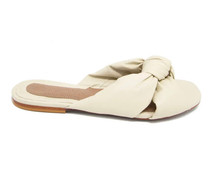 TINSLEY SLIDE SANDAL - IVORY
