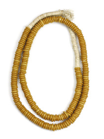 TRADE BEADS NECKLACE - POLISHED CAMEL
