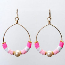 CRISTINA EARRING - ROSE