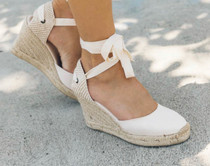 544 LYON WEDGE ESPADRILLE - BLUSH