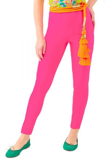 GRIPELESS PULL ON PANT - HOT PINK