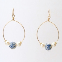 CRISTINA EARRING - BLUE BEAUFORT