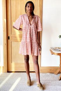 ISLA DRESS - SUN BAKED LEO