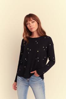 SS24 Cosmic Sky Sweater - Black