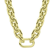 COR101 Blanca Necklace - Polished Gold