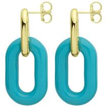 RBRR1012BL Small Shakedown Earrings - Blue