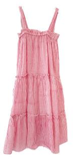 Grace Holiday Ella Dress - Pink Stripe