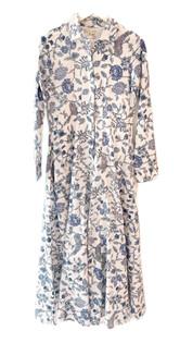 Classic Shirtdress - Blue Bouquet