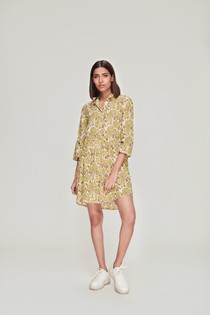 Deauville Shirt Dress, Tamara Yellow