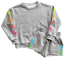 Neon Lightning Bolt Sweatshirt