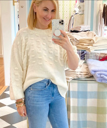 M3395 Bisoux Sweater - Ivory