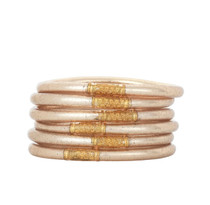 BUDHAGIRL CHAMPAGNE ALL WEATHER BANGLE