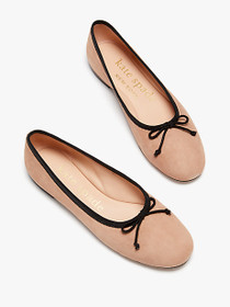 HONEY SUEDE FLAT