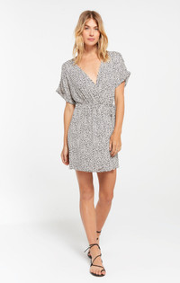 TORRE MINI LEO WRAP DRESS