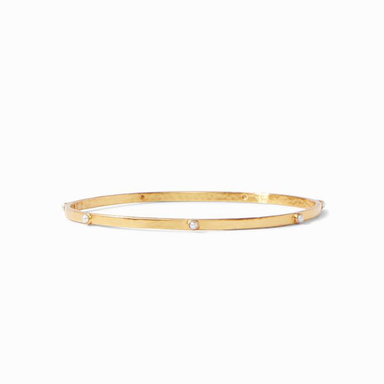 BG193GPL CRESCENT BANGLE
