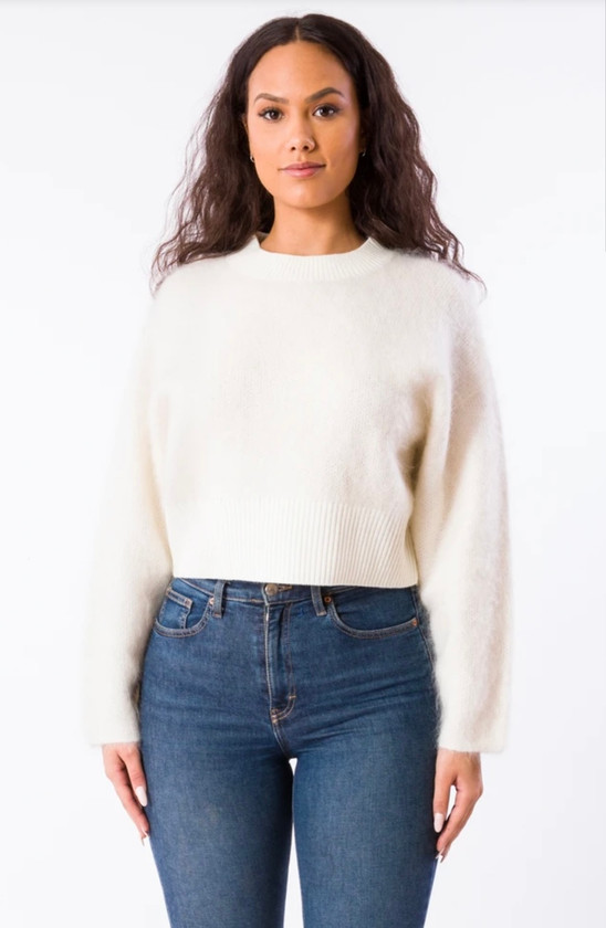 M5764 BARRIO SWEATER - IVORY