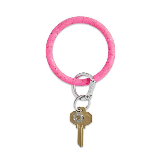 OVENTURE KEY RING - TICKLED PINK CONFETTI