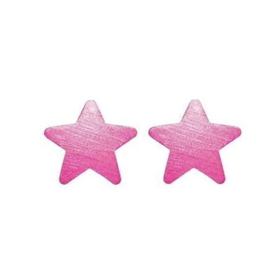 CBRW5705 PINK LANA STAR STUDS