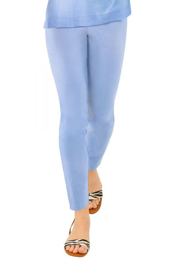 GRIPELESS PULL ON PANT - PERIWINKLE