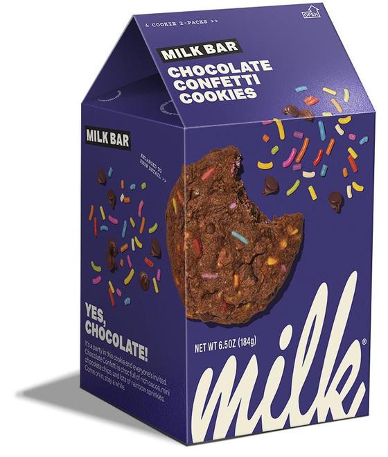 MILK BAR CHOCOLATE CONFETTI COOKIES
