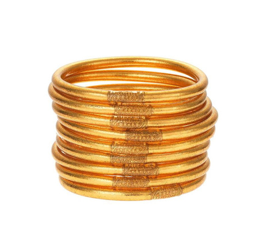 BUDHAGIRL GOLD ALL WEATHER BANGLE