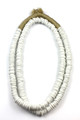 TRADE BEADS NECKLACE - WHITE