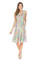 52C9547 TIERED DRESS