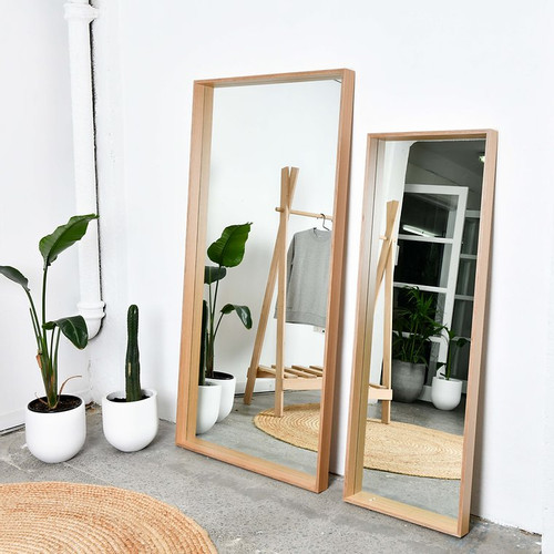 Deep Frame Mirror - (2  Size Options)