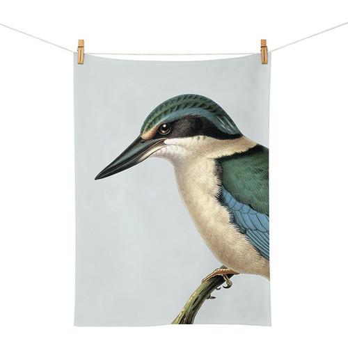 printed cotton tea towel
