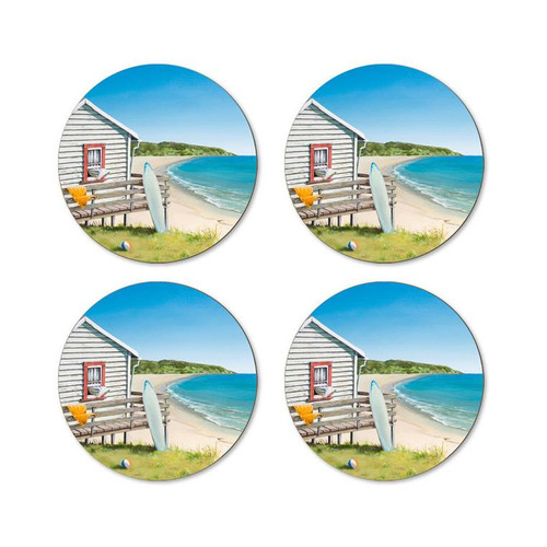 Graham Young - Side of Bach Coaster (Pack of 4)