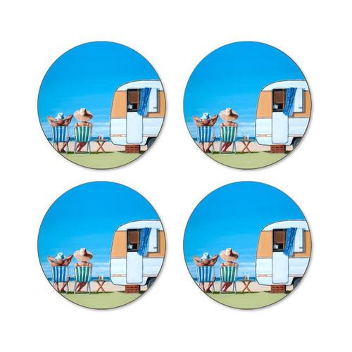Graham Young - Caravan Coaster (Pack of 4)