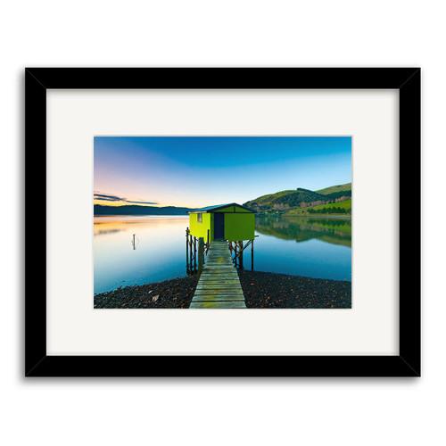 Otago Peninsula Printed Art - Framed (Black or White)