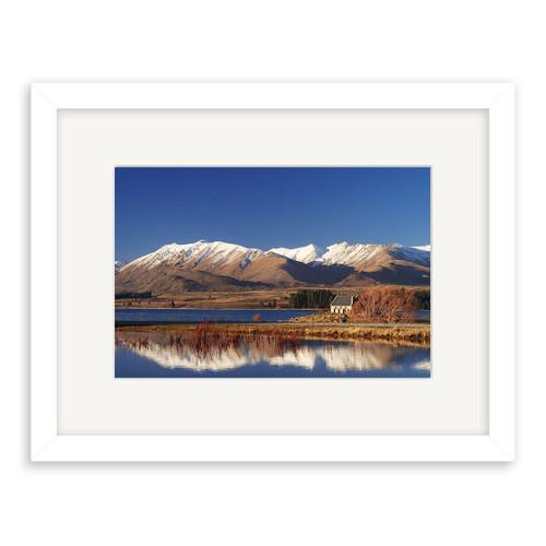Lake Tekapo Printed Art - Framed (Black or White)