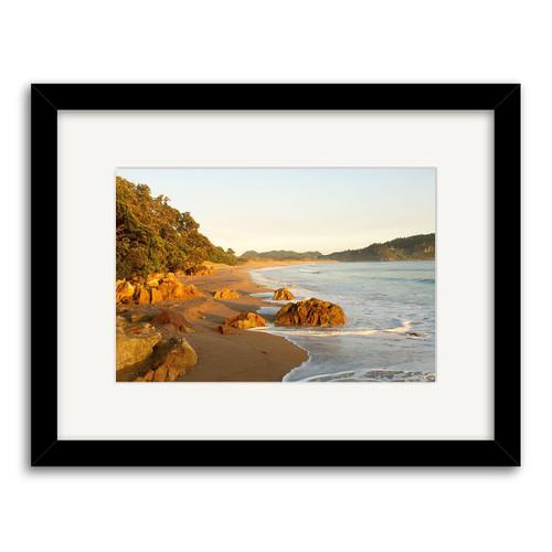 Hot Water Beach Printed Art - Framed (Black or White)