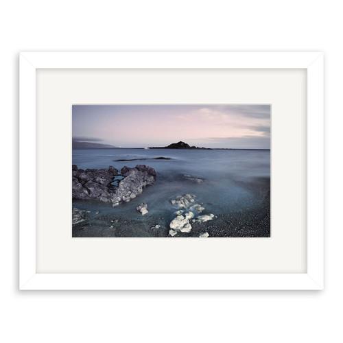 Island Bay Printed Art - Framed (Black or White)