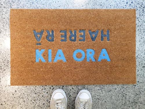 Kia Ora , Haere Ra - Door Mat