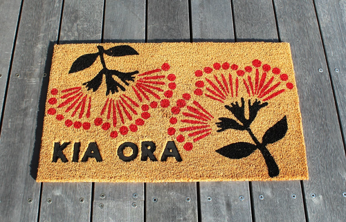 Kia Ora - Pohutukawa - Door Mat