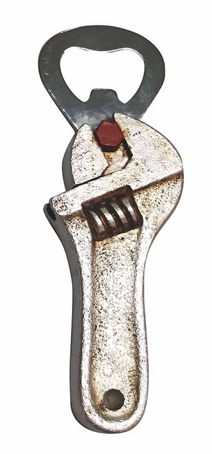 Tool Magnet / bottle opener - Wrench