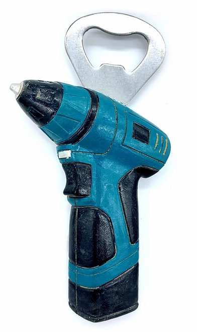 Tool Magnet / bottle opener -Electric Drill