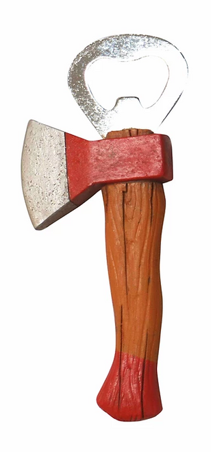 Tool Magnet / bottle opener  - Axe