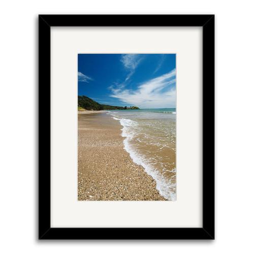 Coopers Beach Printed Art - Framed (Black or White)