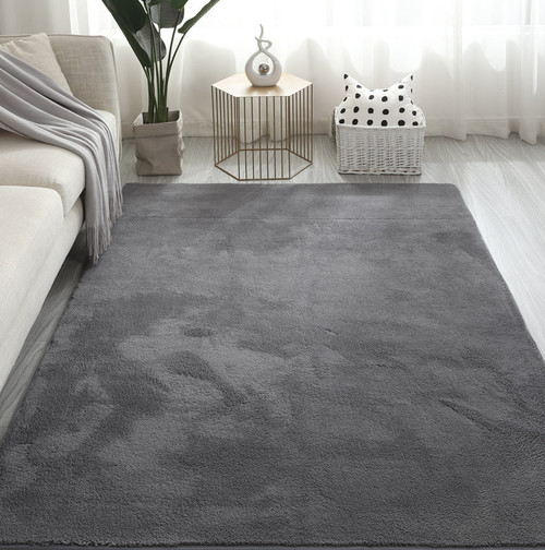 Squishee -  Soft Touch Rug - Dark Grey (2 Size Options)