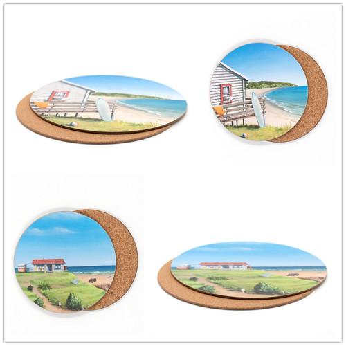 Graham Young - Bach - Placemat & Coaster Set (4 placemat / 4 coaster)