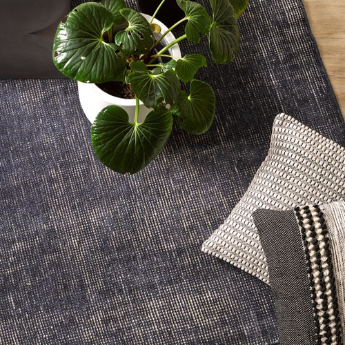 Orakei Flooring Rug  - French Navy