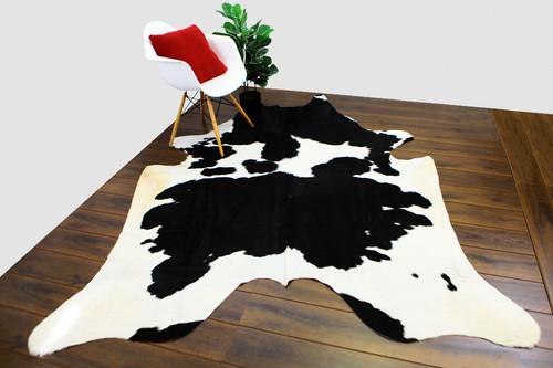 COWHIDE NATURAL BLACK & WHITE 11