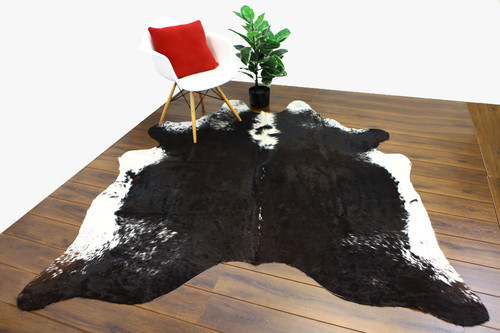 COWHIDE NATURAL BLACK & WHITE 13