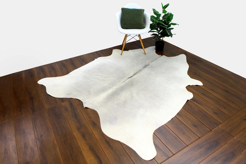 COWHIDE NATURAL GREY & WHITE 03